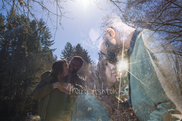 Double Exposure Couple