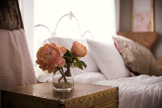 Bed Flowers Boudoir Arlington Mansfield DFW Photographer