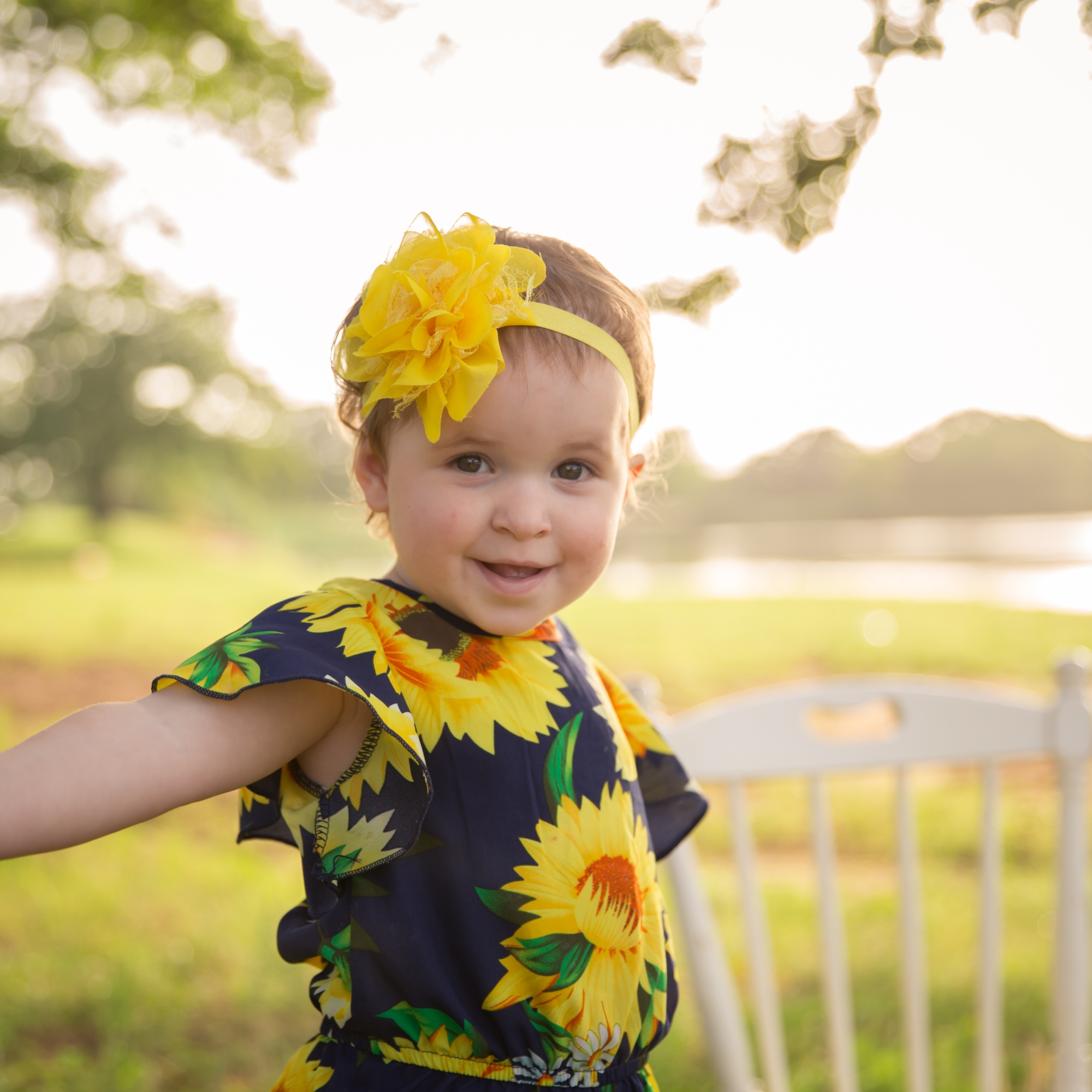 Sunflower Texas Arlington Toddler Milestone Photography